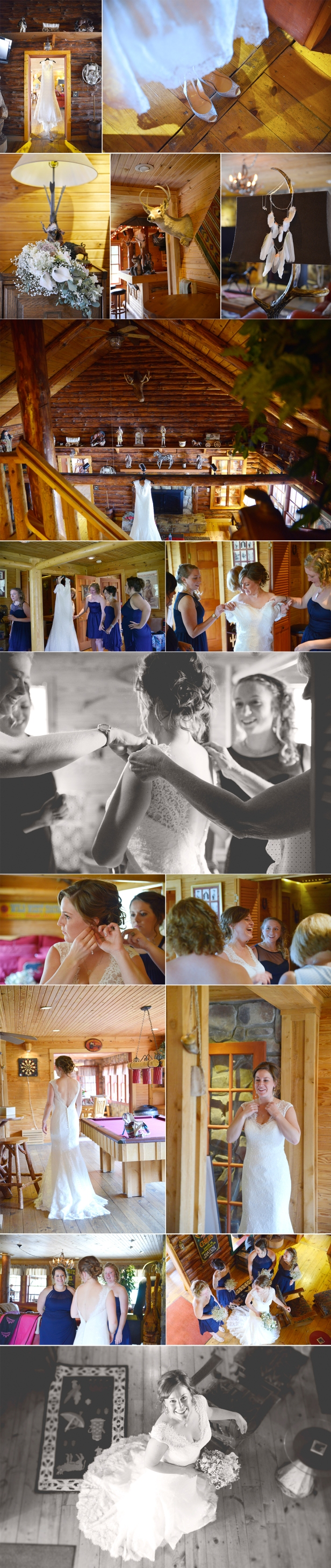 1-indian bear lodge ohio wedding