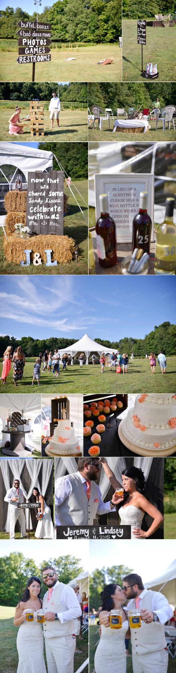 3-country backyard wedding mount vernon Ohio
