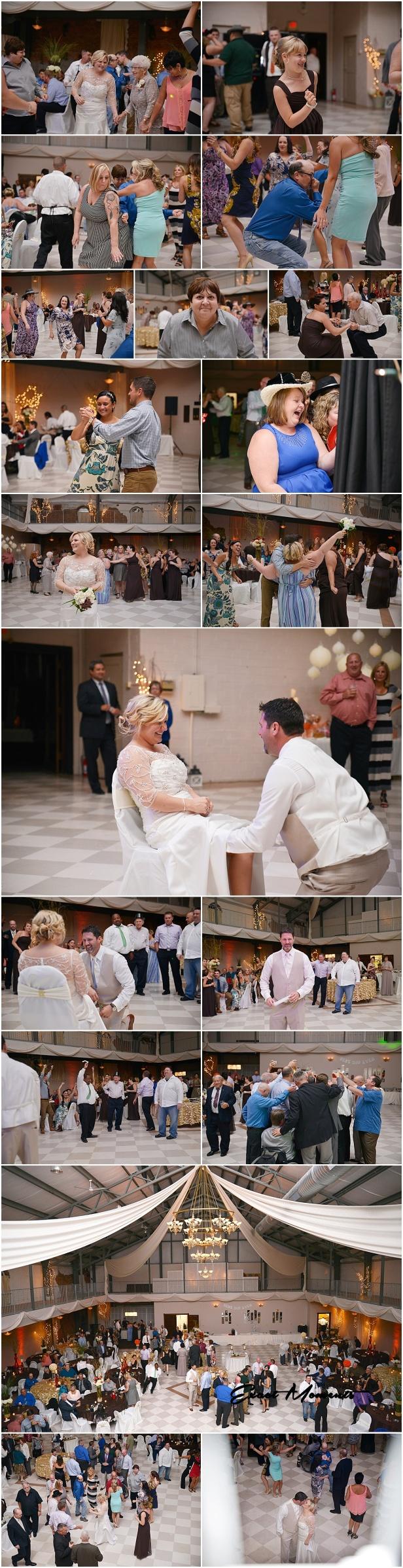 Kenton Armory Wedding Reception