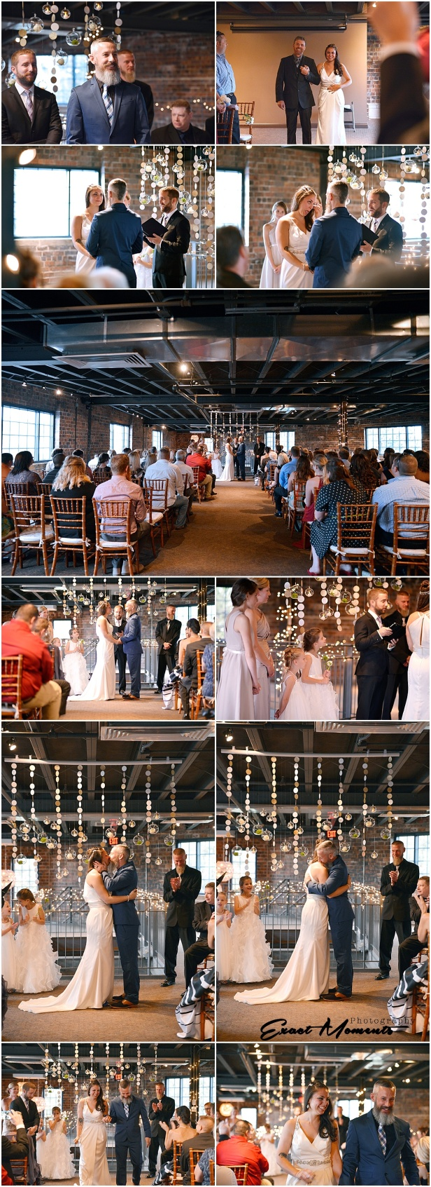 Wedding ceremony at Dock580
