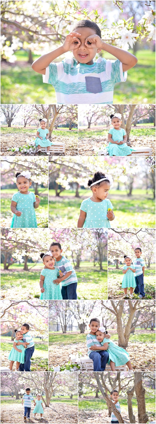 Goodale Park Spring Mini Photography session