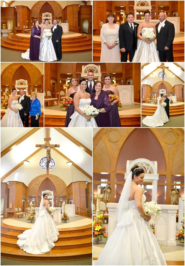 St. Matthew Church Gahanna Ohio Wedding