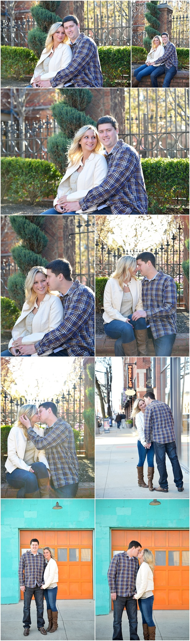 Engagement Photos in Short North Columbus Ohio