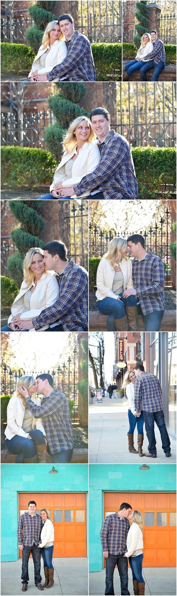 Engagement Photos in Short North Columbus Ohio