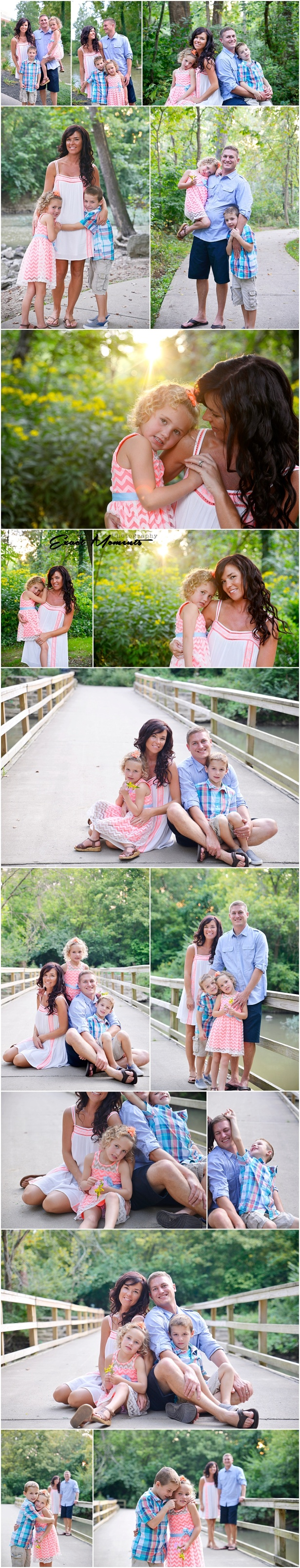 Gahanna Creekside Park Family photos