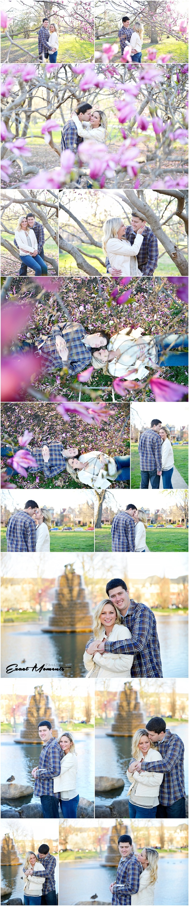 Goodale Park Engagement Session Columbus Ohio