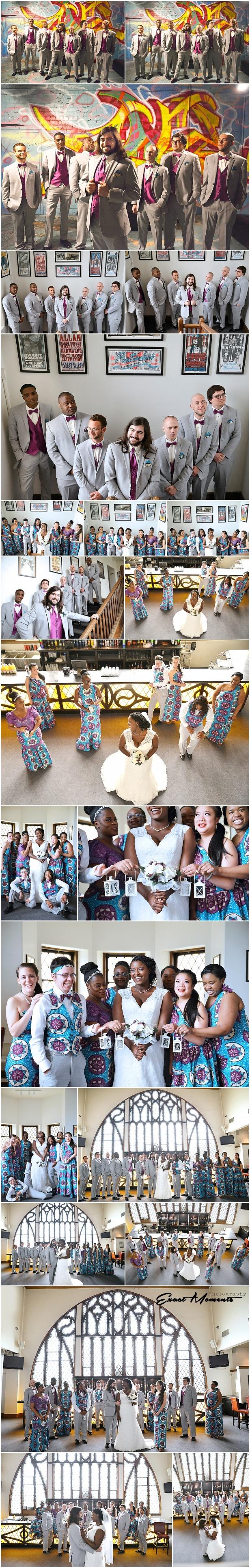 The Bluestone columbus Ohio wedding photos