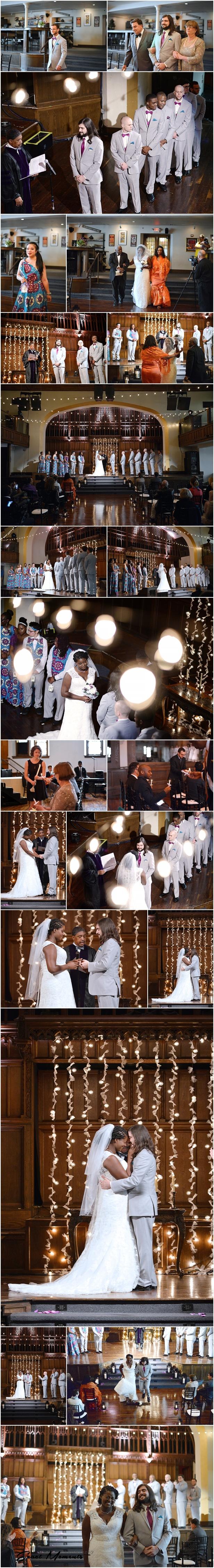 The Bluestone wedding ceremony columbus Ohio