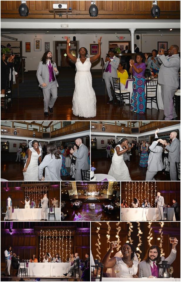The Bluestone wedding reception columbus Ohio