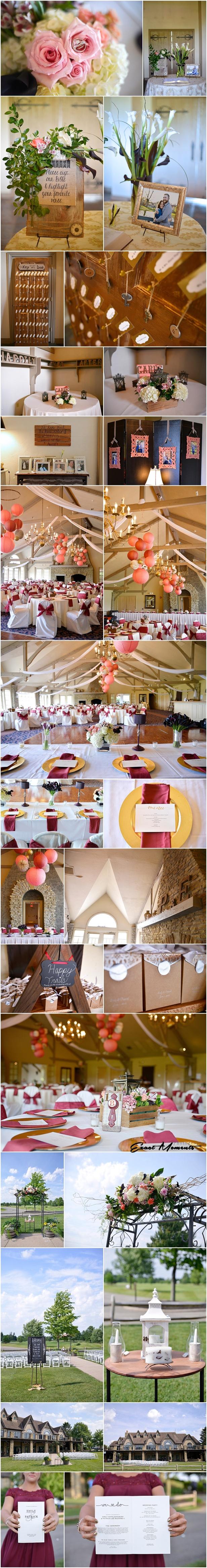 Royal American links Golf Club Wedding Reception