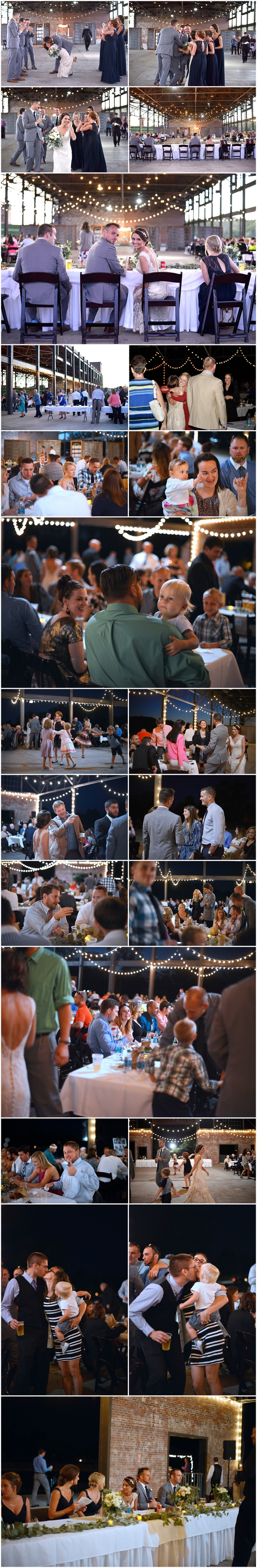 Ariel Foundation Park Wedding Reception
