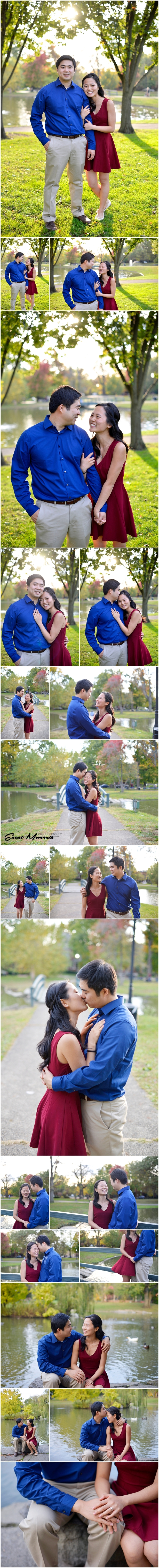 Engagement Session in German Village Columbus