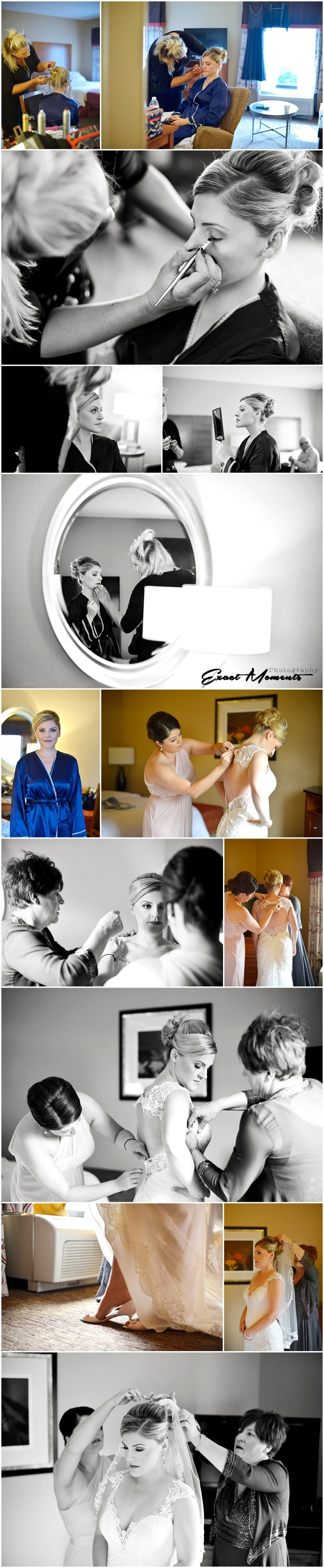 Hampton Inn and Suites Easton Columbus Wedding