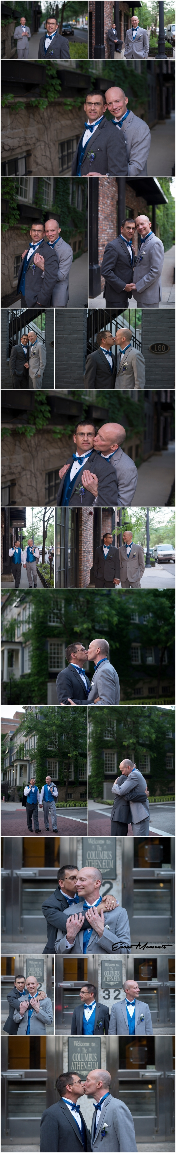 Columbus Ohio Gay Wedding Photographers