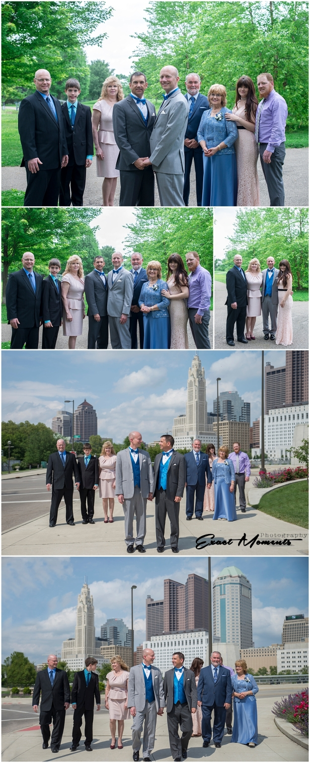 Scioto Mile Wedding Photos Columbus ohio