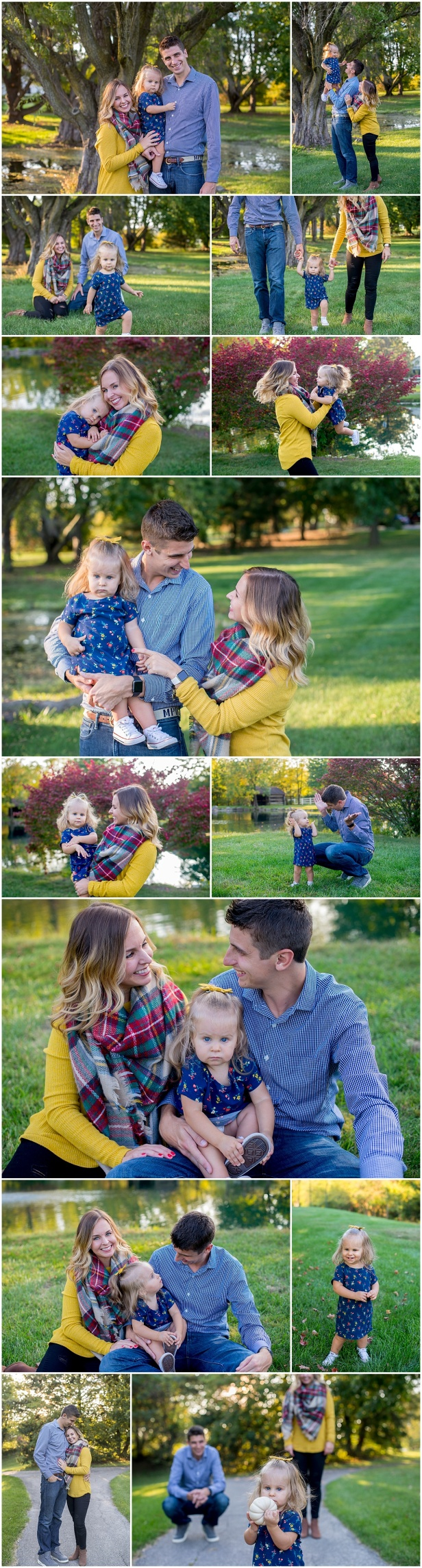 Fall Family Photos Columbus Ohio
