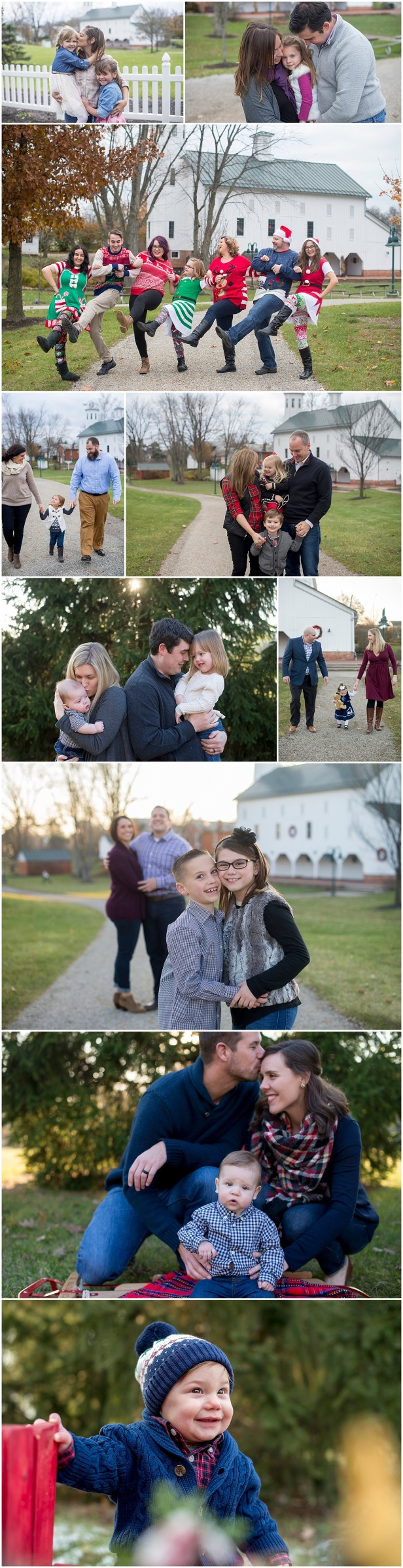 christmas mini sessions columbus ohio